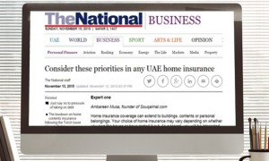 The National: Priorities in any UAE home insurance