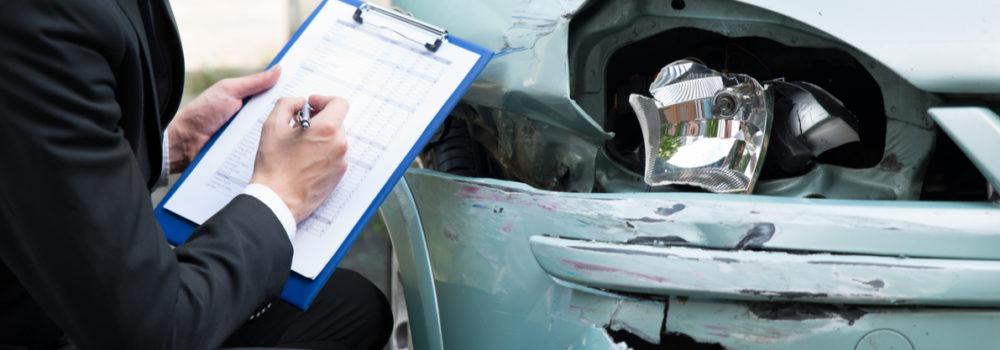تقييم أضرار حوادث المركبات