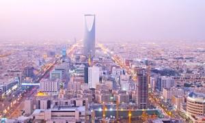 View of Riyadh's Kingdom Tower