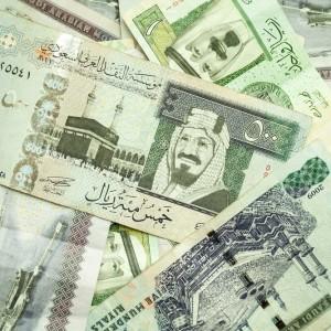 Saudi riyals
