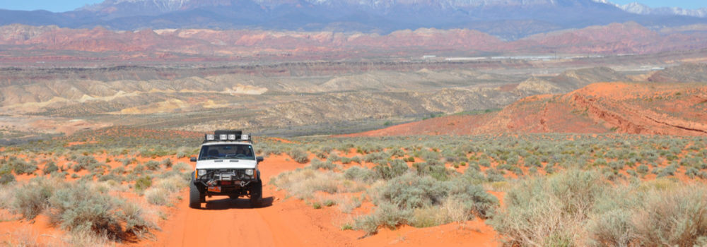 Off-road cover – make sure you know your policy before heading to the desert