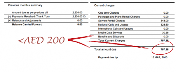 Six Ways To Keep Your Mobile Phone Bill Under AED 200 - The