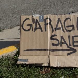 garage sale