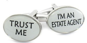 Real estate agents - do we trust them