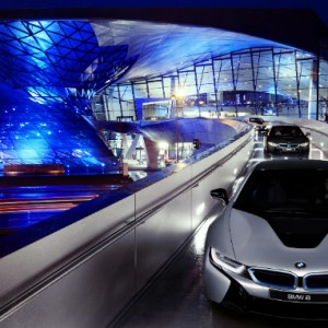 BMW i8 launch