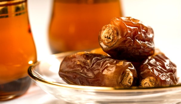 Dates and tea - Ramadan iftar