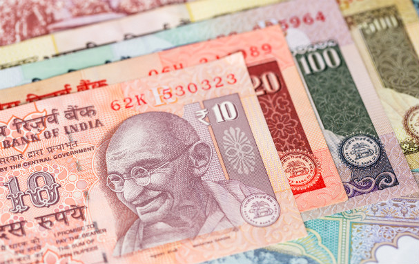 Indian rupee notes