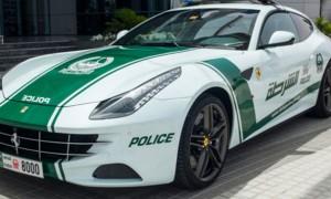 Dubai police Ferrari supercar