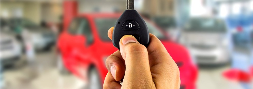 Buying a car; car key