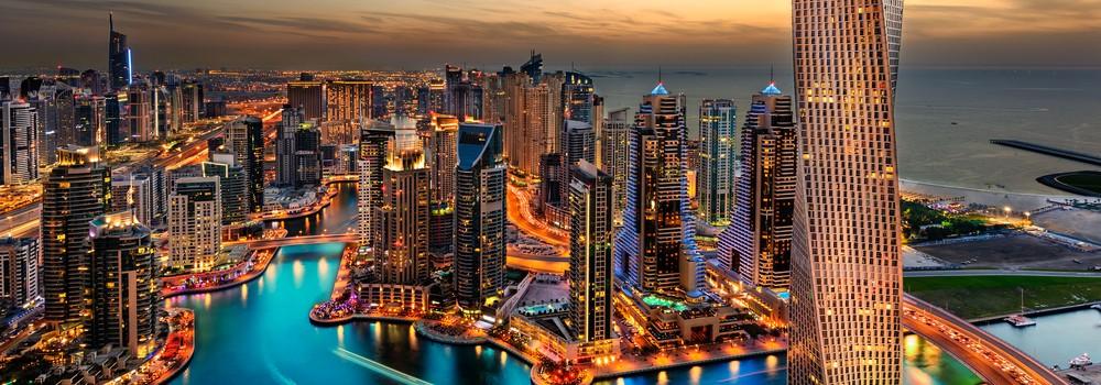 Dubai Marina - Cayan Tower