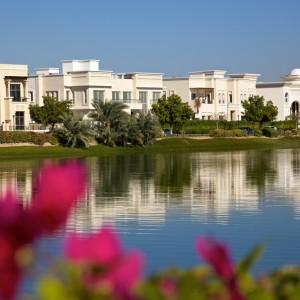 A residential area of Dubai