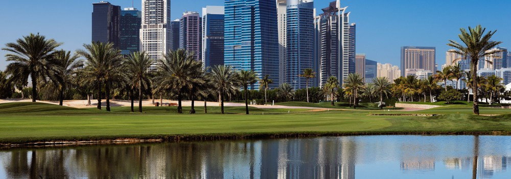 Tecom area in Dubai