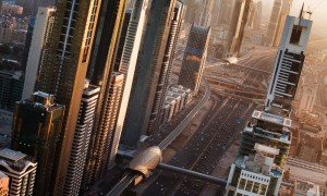 Dubai's Sheikh Zayed Road