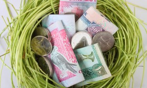 A nest of UAE dirhams savings