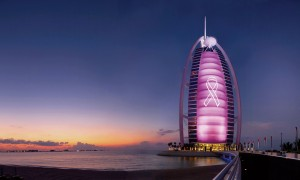 Burj Al Arab Breast Cancer Awareness Month