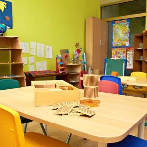 Class room interior