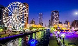 Ferris wheel in Al Qasba Sharjah