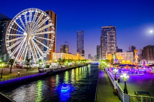 Ferris wheel in Al Qasba Sharjah