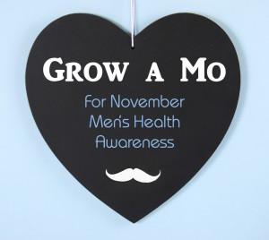 Grow a Mustache message