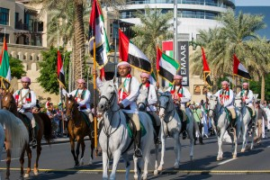 UAE National Day parade in Downtown Dubai
