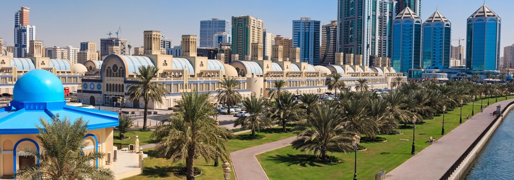 Sharjah's Blue Souq