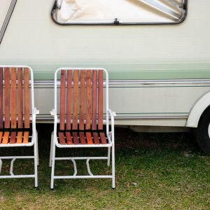 Chair and camping car