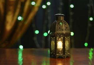 eid al adha lantern and decoration lights