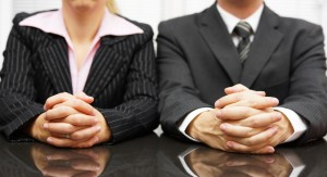 Managers are interviewing candidate for job