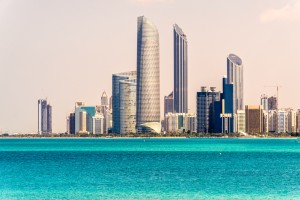 Abu Dhabi Skyline, United Arab Emirates
