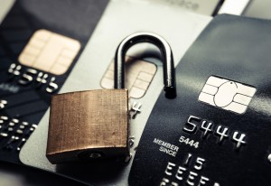 Credit Cards and a lock