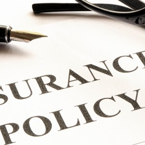 takaful insurance policy form on desk rendered