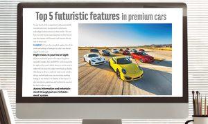 CarBook Magazine: Top 5 futuristic features in premium cars