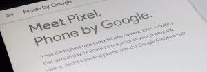 Google Pixel Phone rendered