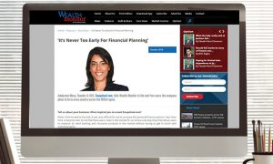Wealth Monitor- 'It's Never Too Early For Financial Planning'
