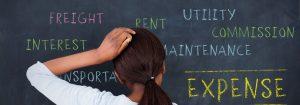 woman having a brainstorm money managemen rendered
