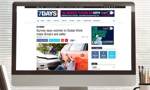 7 days: Survey says women in Dubai think male drivers are safer