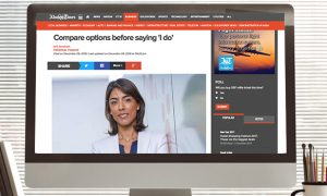 Khaleej Times: Compare options before saying 'I do'