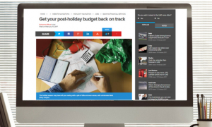 Khaleej Times: Get your post-holiday budget back on track