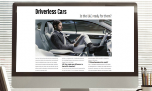 CarBook Magazine: Driverless Cars – Is the UAE ready for them?