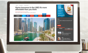 Khaleej Times: Home insurance in the UAE: It's more affordable than you think