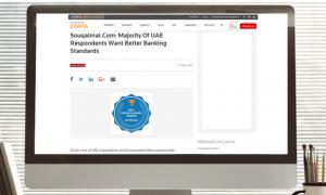 Zawya: 'Souqalmal.com: Majority Of UAE Respondents Want Better Banking Standards'