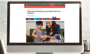 Khaleej Times: Five money lessons we can learn from our mothers