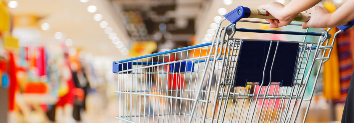 lifestyle-inflation-woman-pushing-shopping-cart-in-shopping-mall-rendered