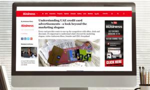 ArabianBusiness: Understanding UAE Credit Card Advertisement
