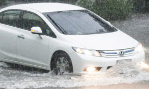 rain damage flood car insurance