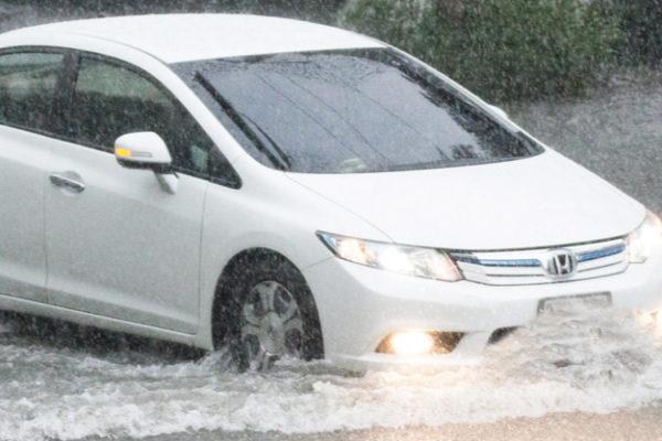 rain damage flood car insurance