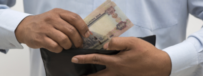 cash, credit or debit