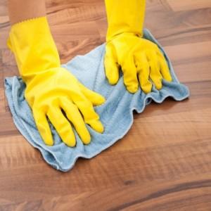 تنظيف الارض