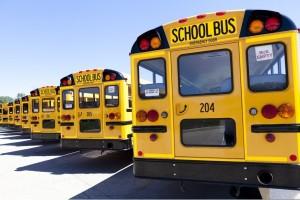 حافلة مدرسية صفرة