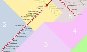 خريطة المترو